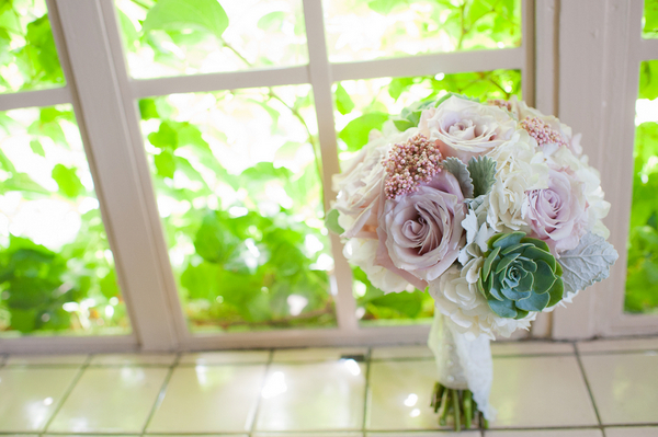 Romantic Vintage Wedding Bouquet