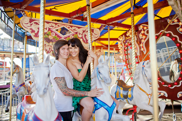 royal easter show auckland engagement session Auckland Royal Easter Show Engagement Session by Coralee & Alex