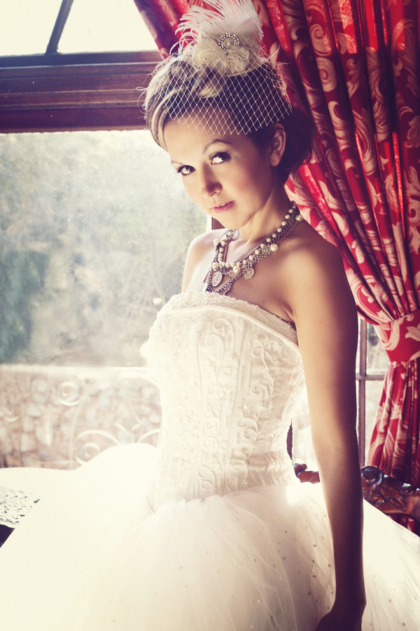 Victorian Inspired Bridal Gown