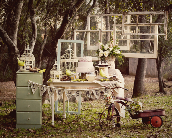 victorian inspired garden wedding props Victorian Inspired Bridal Shoot by Alexia Wardell Photography