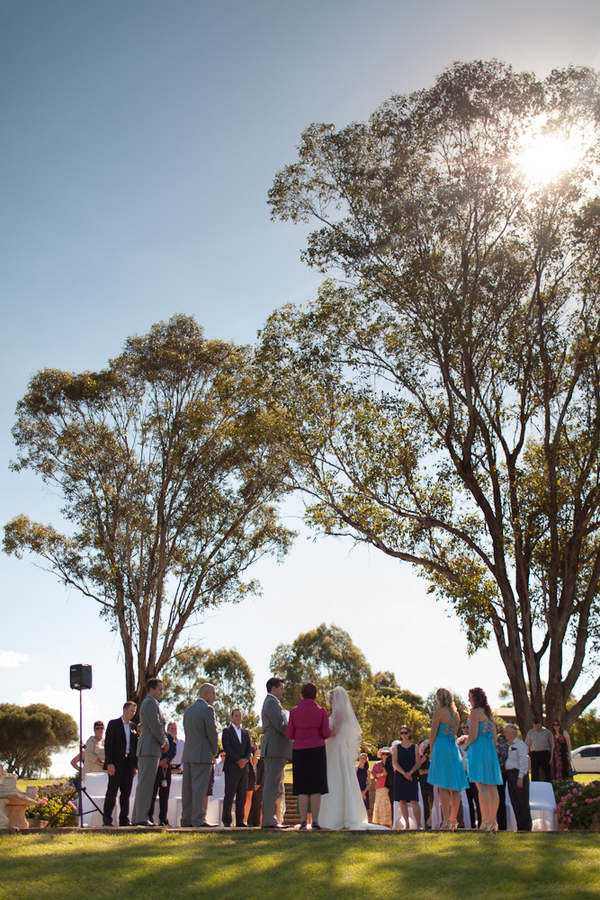 Wedding at Hunter Valley Willow Tree Estate