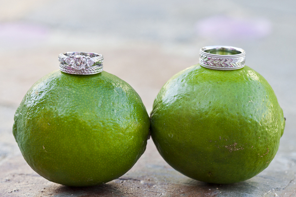 Wedding Rings on Limes