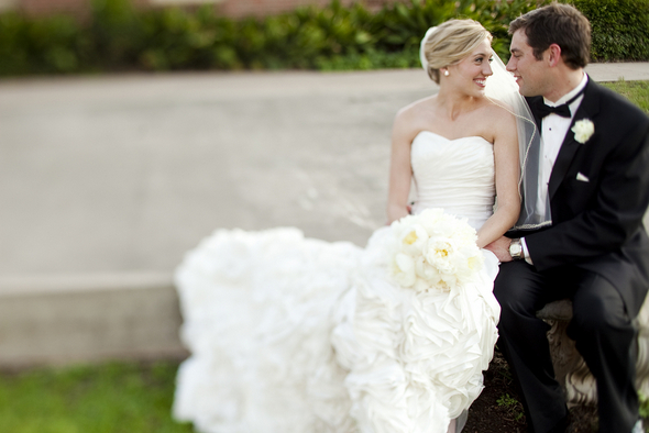 classic romantic wedding Your Favorite Weddings of 2012