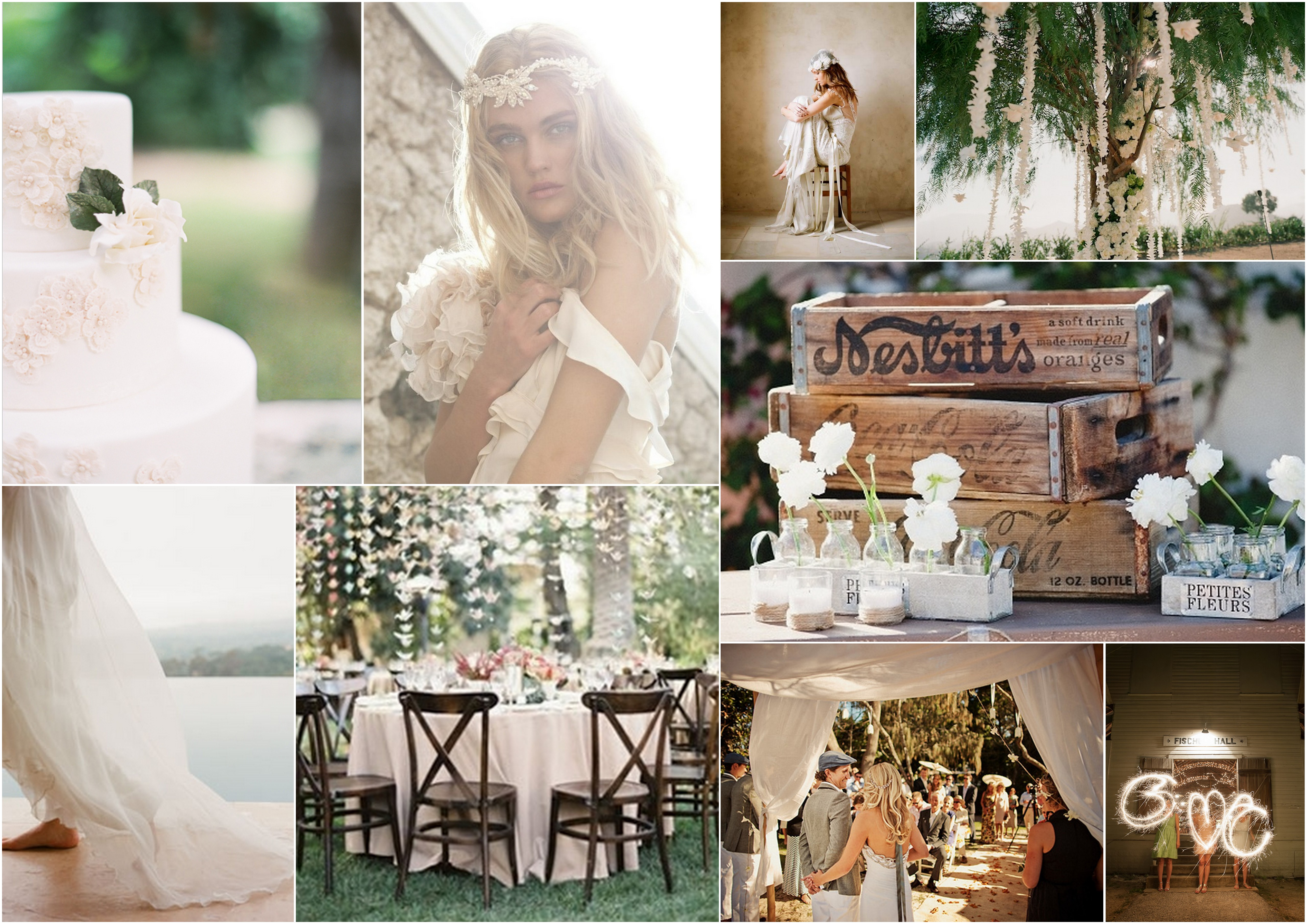 Matrimonio Gipsy Chic : Gypsy boho wedding inspiration