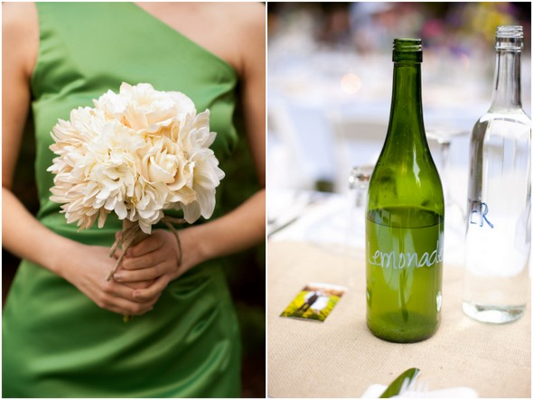 vintage garden wedding green Your Favorite Weddings of 2012