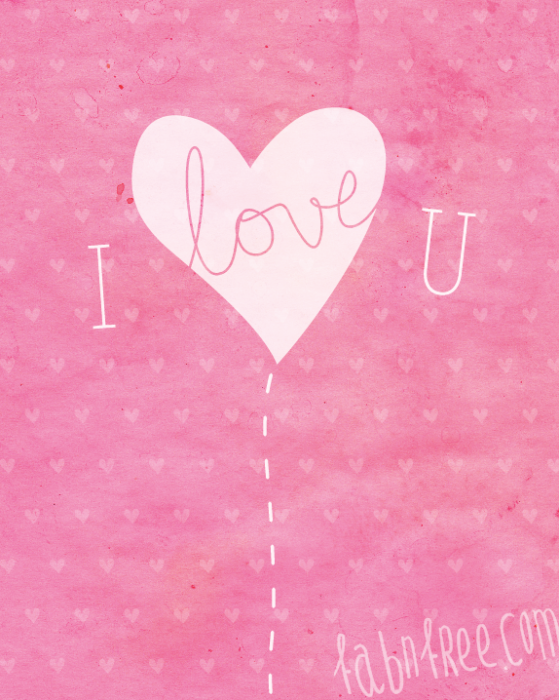 i love you card Free Valentines Day Downloads for Your Loved Ones