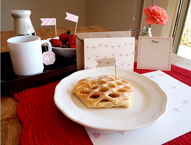 valentines breakfast in bed pack Free Valentines Day Downloads for Your Loved Ones