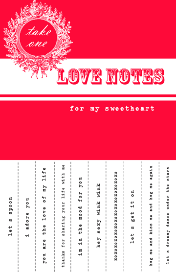 valentines day love notes Free Valentines Day Downloads for Your Loved Ones