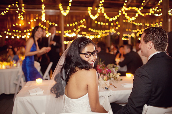 Bride Wearing Glasses