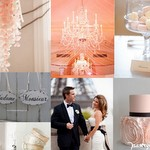 Paris Inspired Pink Inspiration Board