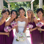 Sophisticated Plum Wedding by Kamila Harris Photography