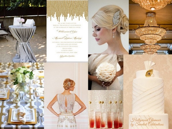 hollywood glamour wedding inspiration Hollywood Glamour Wedding Inspiration