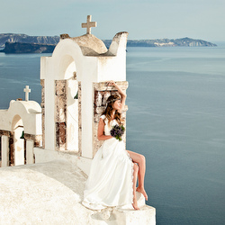 Santorini Destinaion Wedding