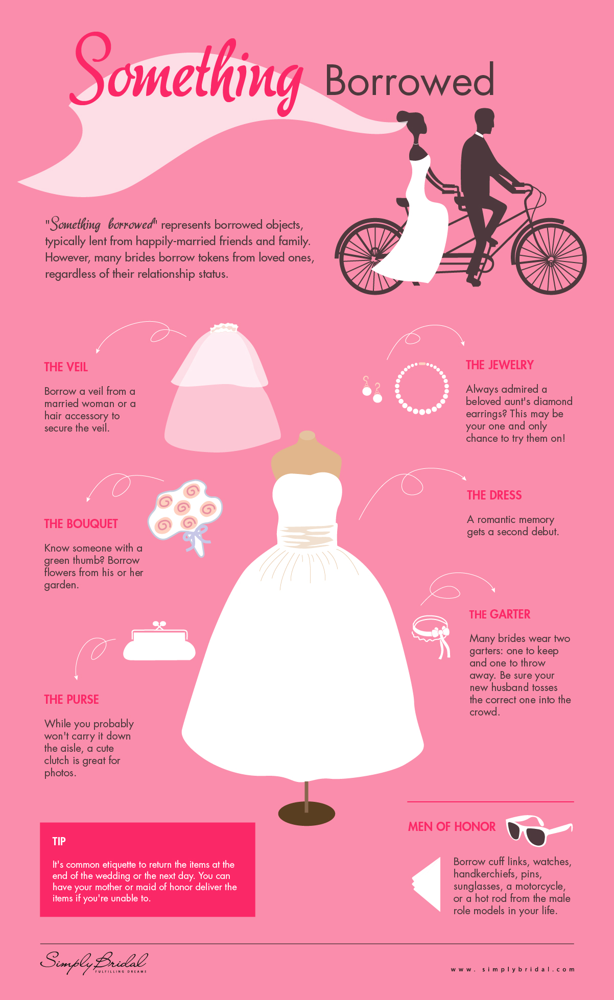 Something Borrowed Ideas for the Bride