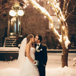 Winter Cocktail Party Wedding by Joel Bedford Photography