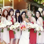 Red & Pink Wedding in Thousand Oaks