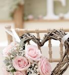 Pink and Grey Wedding Decor Inspiration