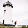 Martha's Vineyard Lighthouse Ceremony and Tented Outdoor Reception by Femina Photo + Design