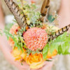 7 Gorgeous Ways to Incorporate DIY Wedding Flowers Into Your Day