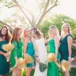 Woodland Fete Green Wedding Theme