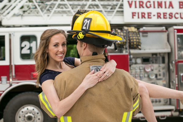 Firefighter Engagement Pictures To Melt Your Heart