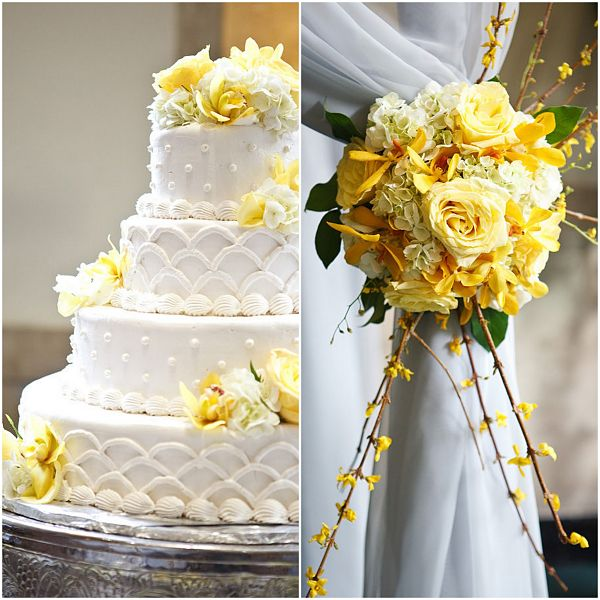 Wedding White Theme: Citrus Yellow And Grey Wedding Theme