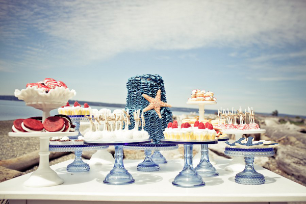Beach Wedding Cake Table Ideas 1000 Images About Weddings