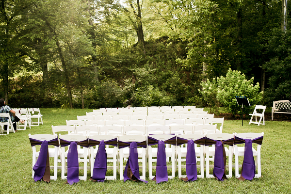 Pink And Purple Garden Wedding In Knoxville Tennessee