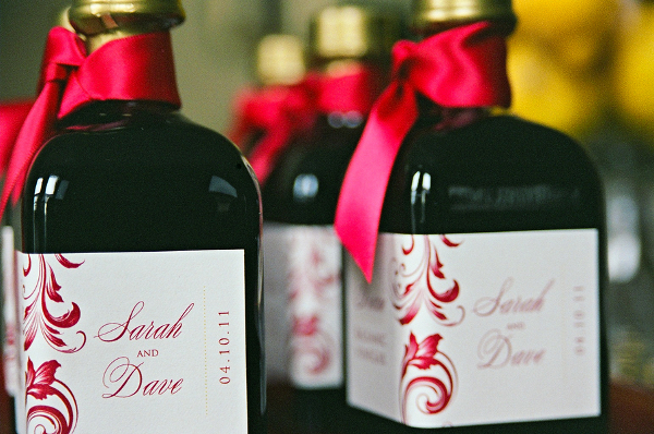 Red And Marigold Wedding Favor Ideas