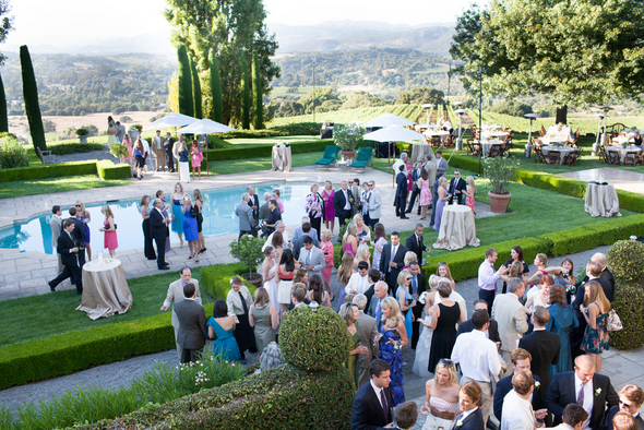 Private Party Table Napa Valley Wedding Ideas