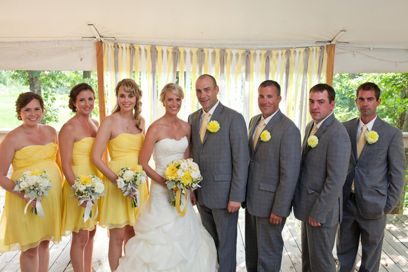 Stunning Yellow And Gray Wedding Colors Pictures Styles Ideas Photos